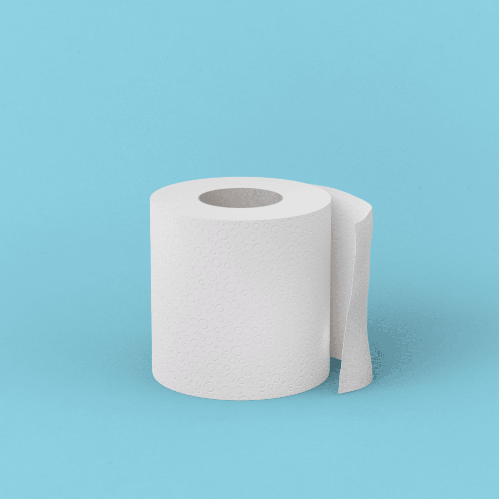 Sustainably sourced loo roll